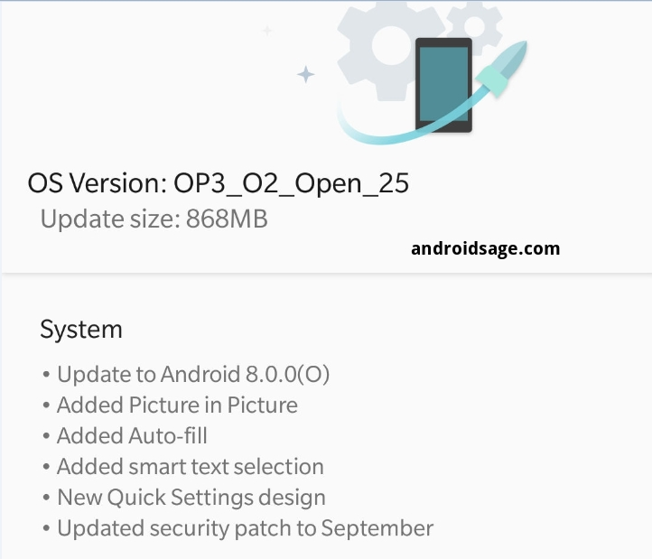 Official Oxygen OS Android 8.0 Oreo with Open Beta 25 and Beta 16 for OnePlus 3-3T