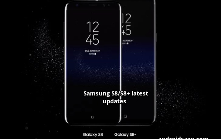 Samsung Galaxy S8 and S8 October 2017 security patch G950FXXU1AQI9