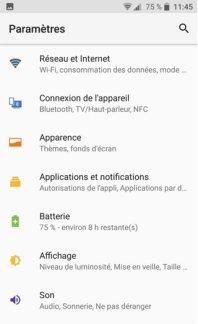 Sony Xperia XZ Premium 47.1.A.3.254 Oreo update screenshot3