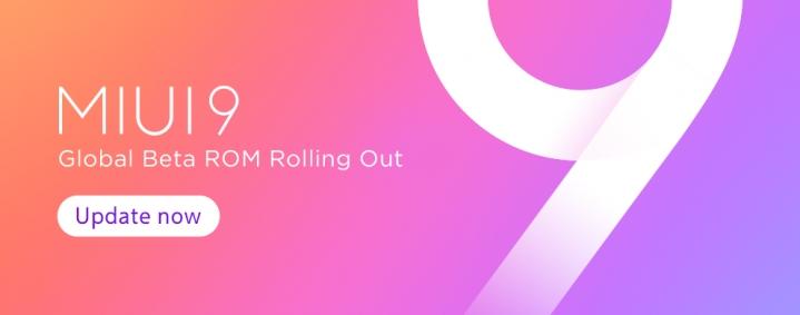 MIUI 9 Global Beta ROM v7.10