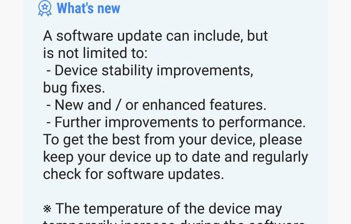 Samsung Oreo Beta 2 update