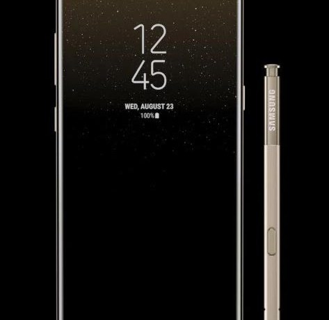November security patch for International variant of Galaxy Note 8