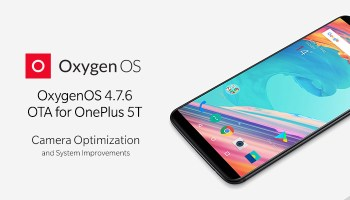 OnePlus 5 OxygenOS 4 5 10 OTA update available for download
