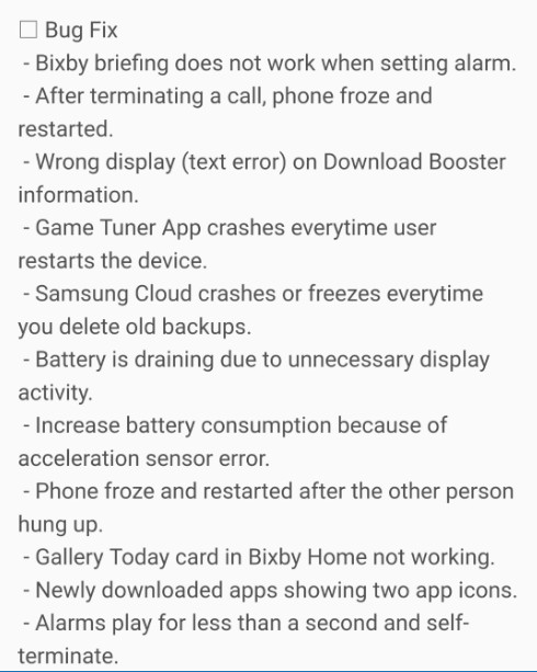Oreo beta 6 changelog updatelog 1