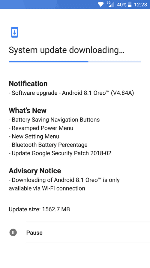 Nokia releases Android 8.1 Oreo update