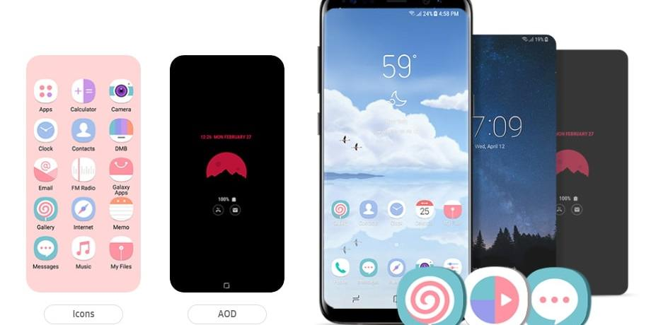 Download the Best Free Samsung Icon Packs from Samsung Themes Store