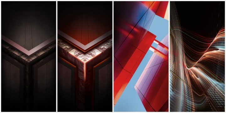 Asus ROG Phone stock wallpapers min