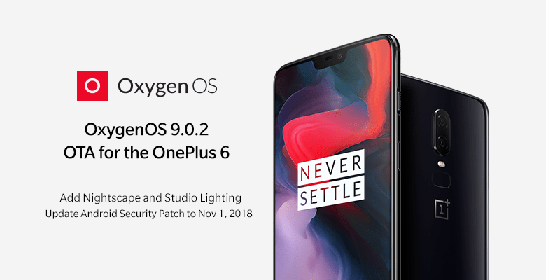 Download OxygenOS 9.0.2 for OnePlus 6