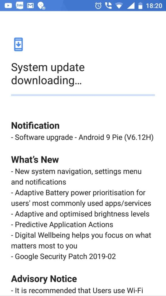 Nokia 6 receives official Android 9.0 Pie OTA update V6.12H-min