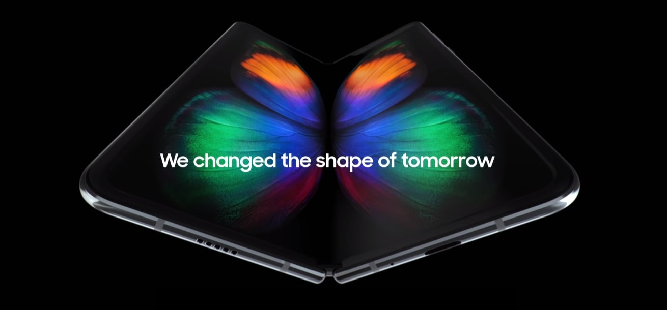 Download Samsung Galaxy Fold Stock And Live Wallpapers Total 12
