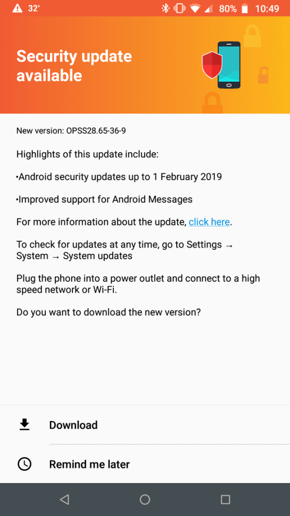 Moto G5S and G5S+ RETUS getting Oreo February 2019 security update