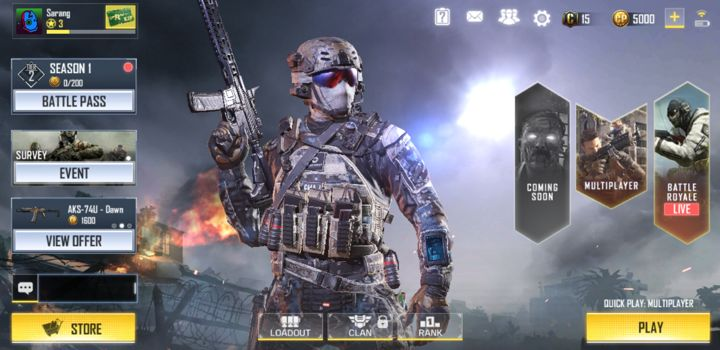 Call of Duty Mobile Battle Royale Screenshot