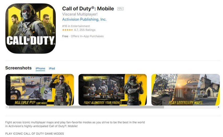 Call of Duty_ Mobile on the App Store