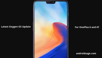 Oxygen OS 9 0 13 for OnePlus 6T and Oxygen OS 9 0 5 for
