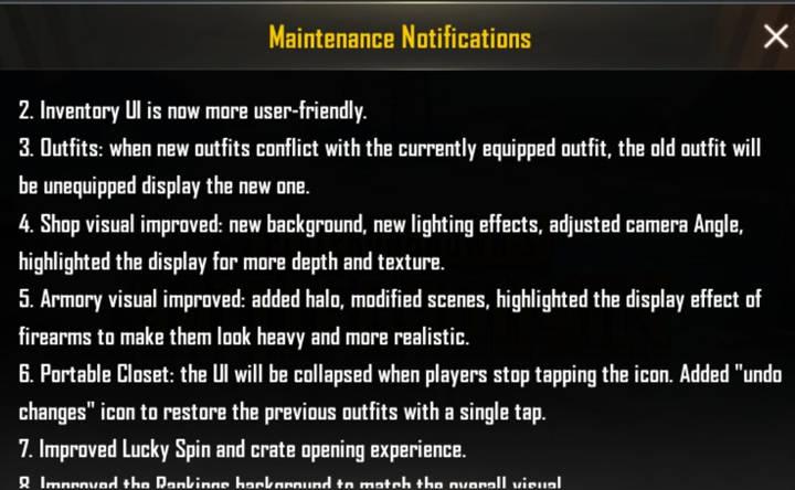 Screenshot PUBG MOBILE 0.14 update (6)