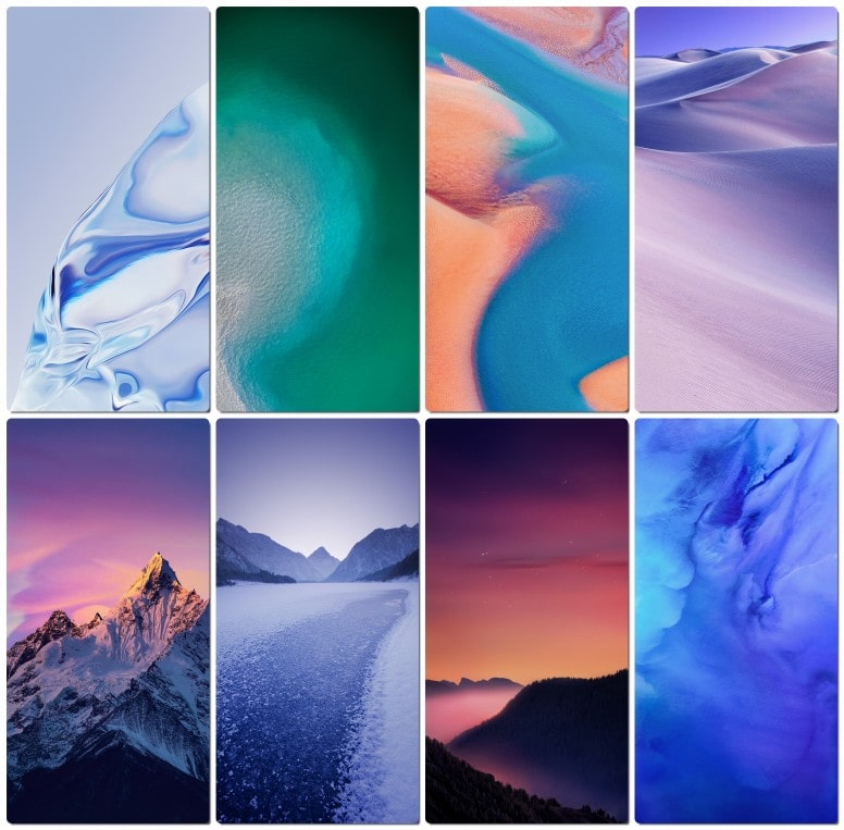 MIUI 11 ROM wallpapers set 2