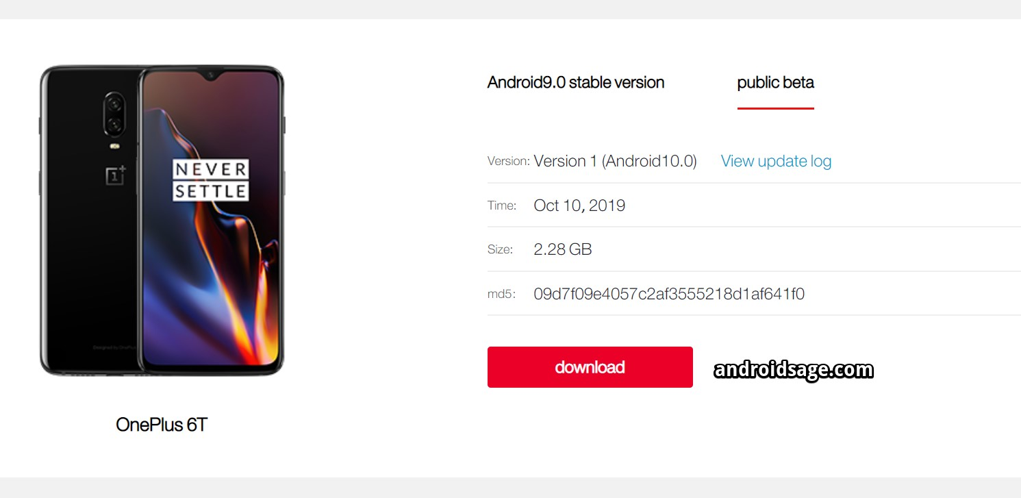 Download Android 10 for OnePlus 6 and 6T Oxygen OS 10 and Hydrogen OS 10