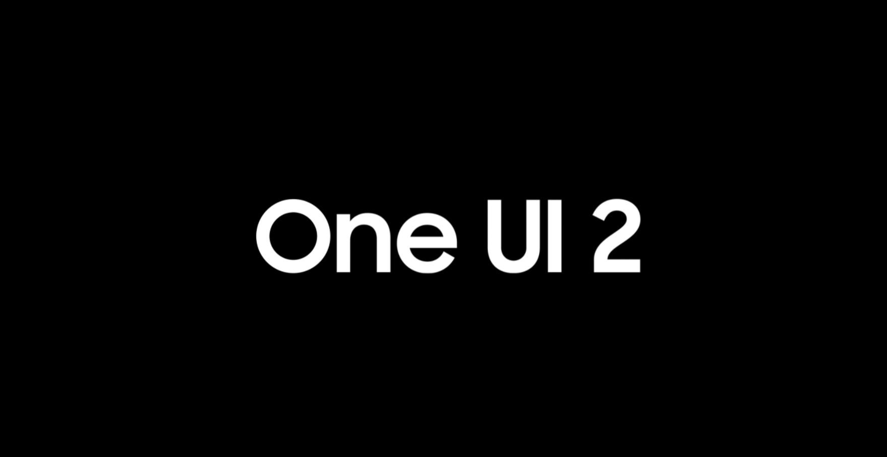 One UI 2.0 by Samsung