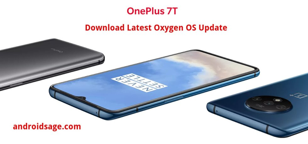 OnePlus 7T download latest oxygen os ota update