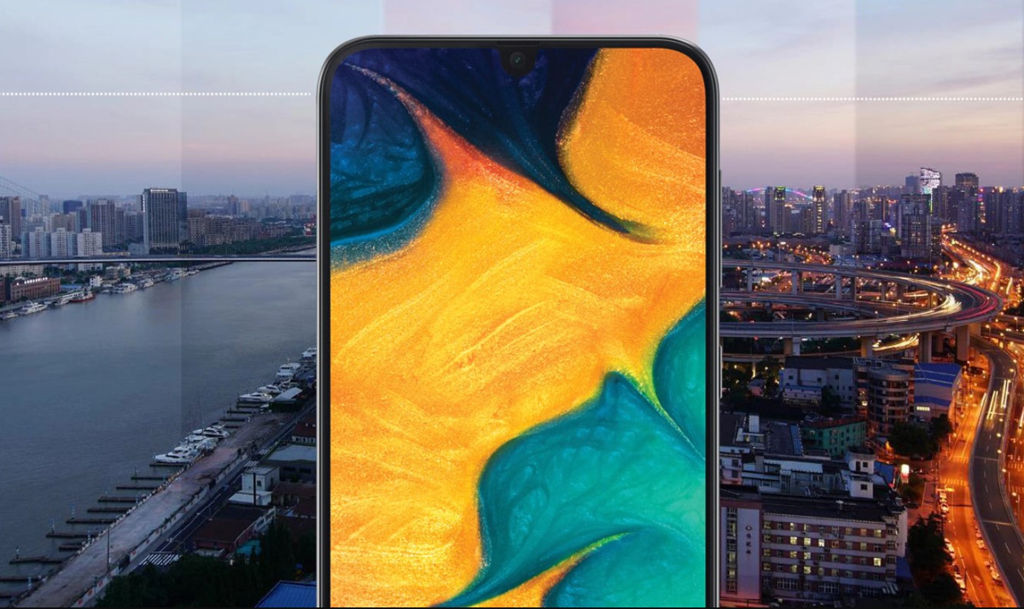Samsung Galaxy A30 android 10 update download