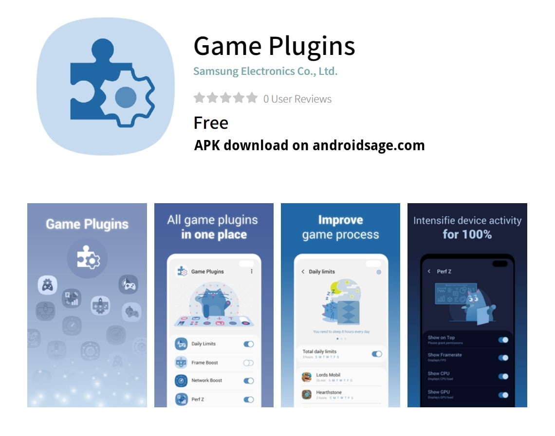 Samsung Game Plugins APK download Galaxy Store