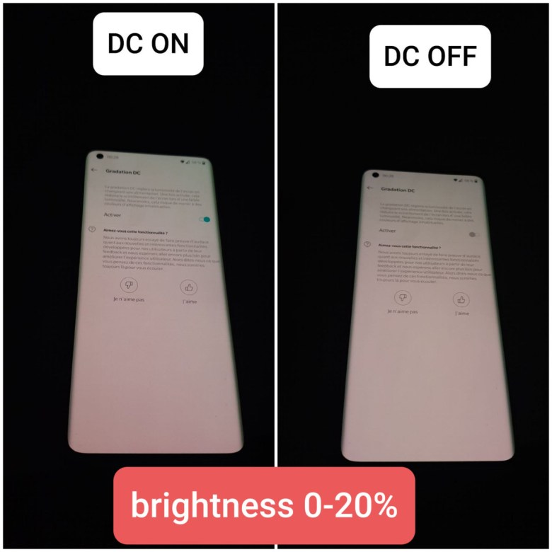 DC dimming on green tint fix 1