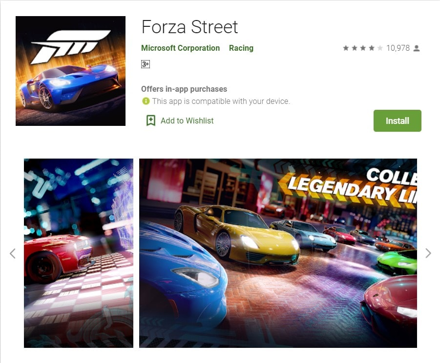 Forza Street Apps on Google Play APK download