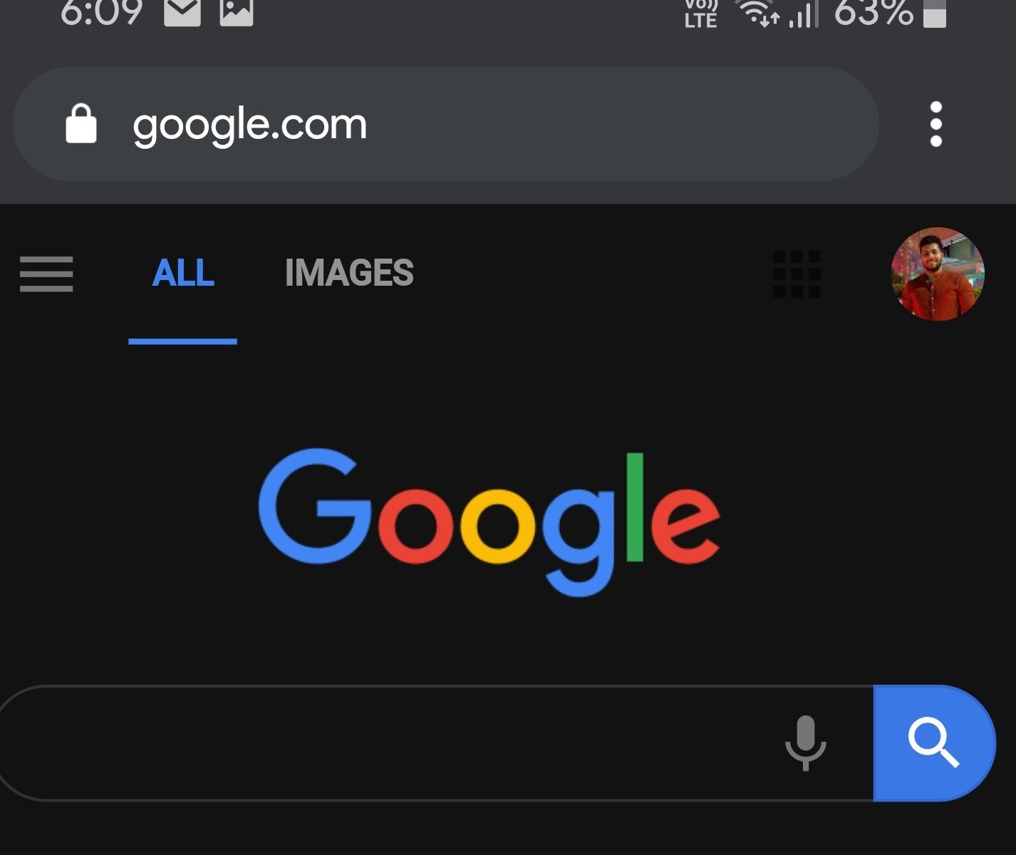 Google Chrome for Android dark mode with darken websites