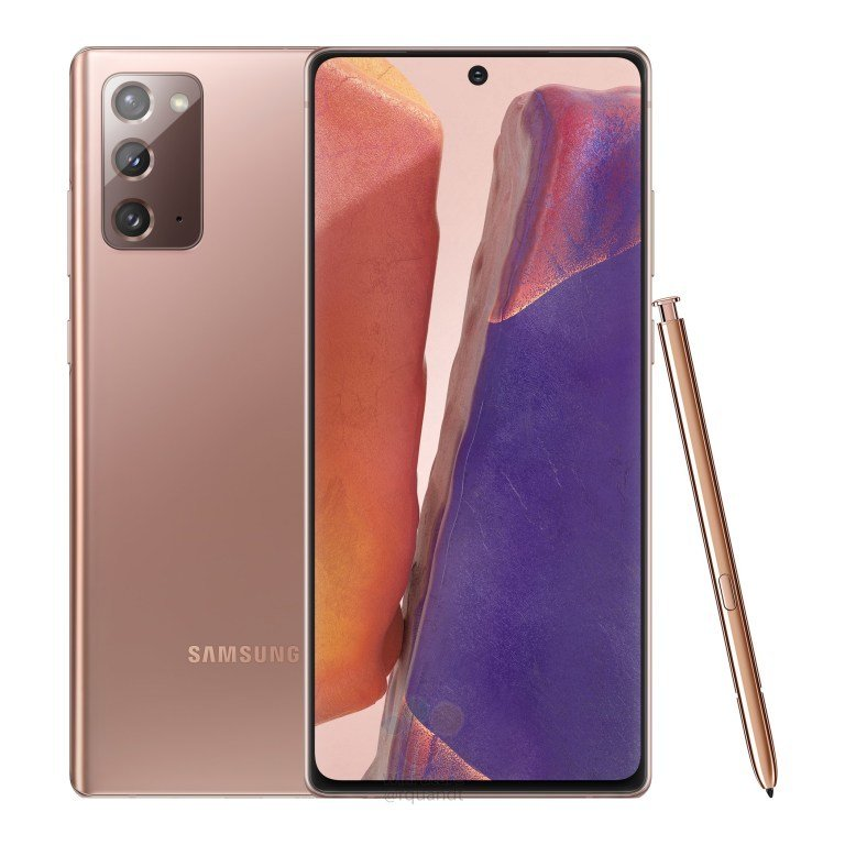 Samsung Galaxy Note 20 Mystic Bronze With S Pen