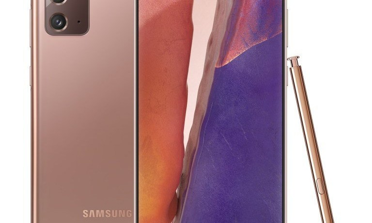 Samsung-Galaxy-Note-20-Mystic-Bronze-With-S-Pen