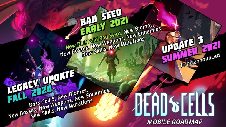 Dead Cells new DLS for Android and iOS