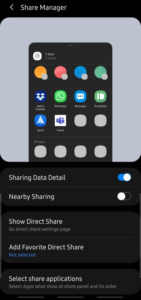 Share Manager by Samsung