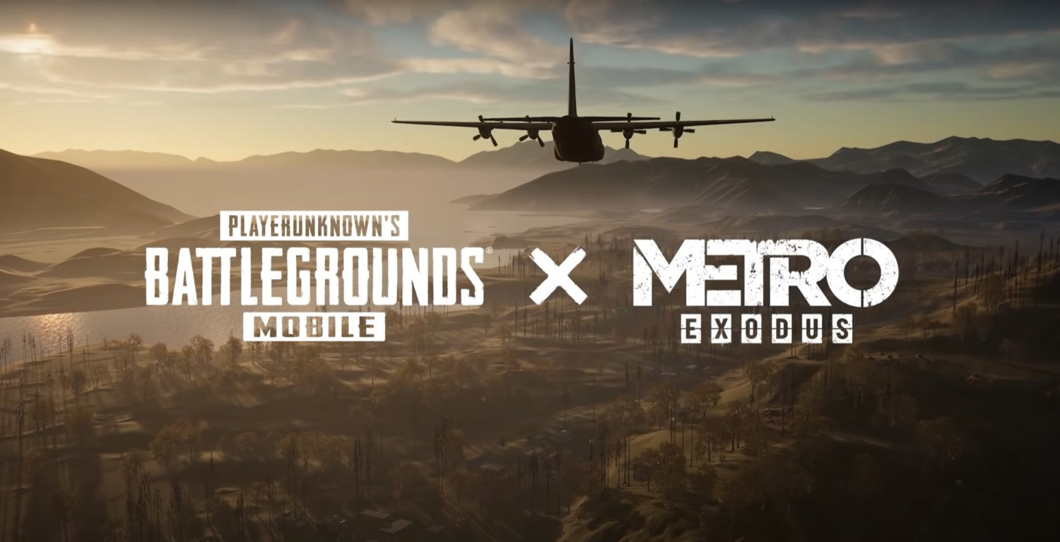 Download Latest PUBG Mobile 1.1 APK and OBB File with Metro Royale | PUBG x Metro Exodus