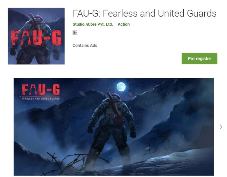 FAU-G_ Fearless and United Guards - Apps on Google