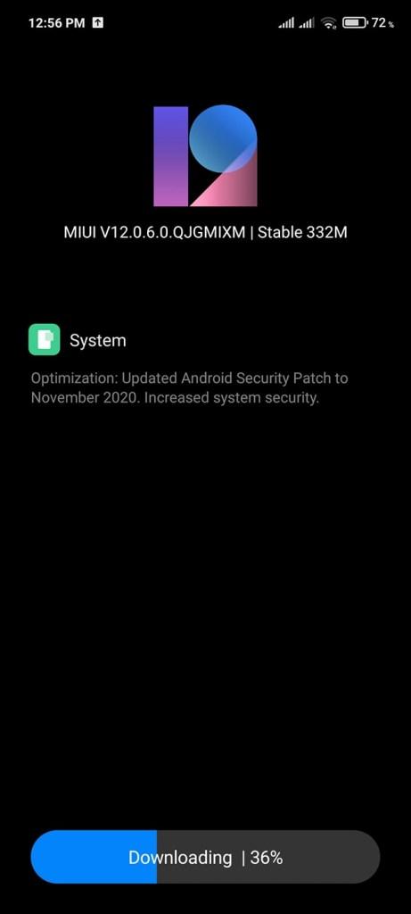 POCO X3 NFC MIUI 12.0.6.0