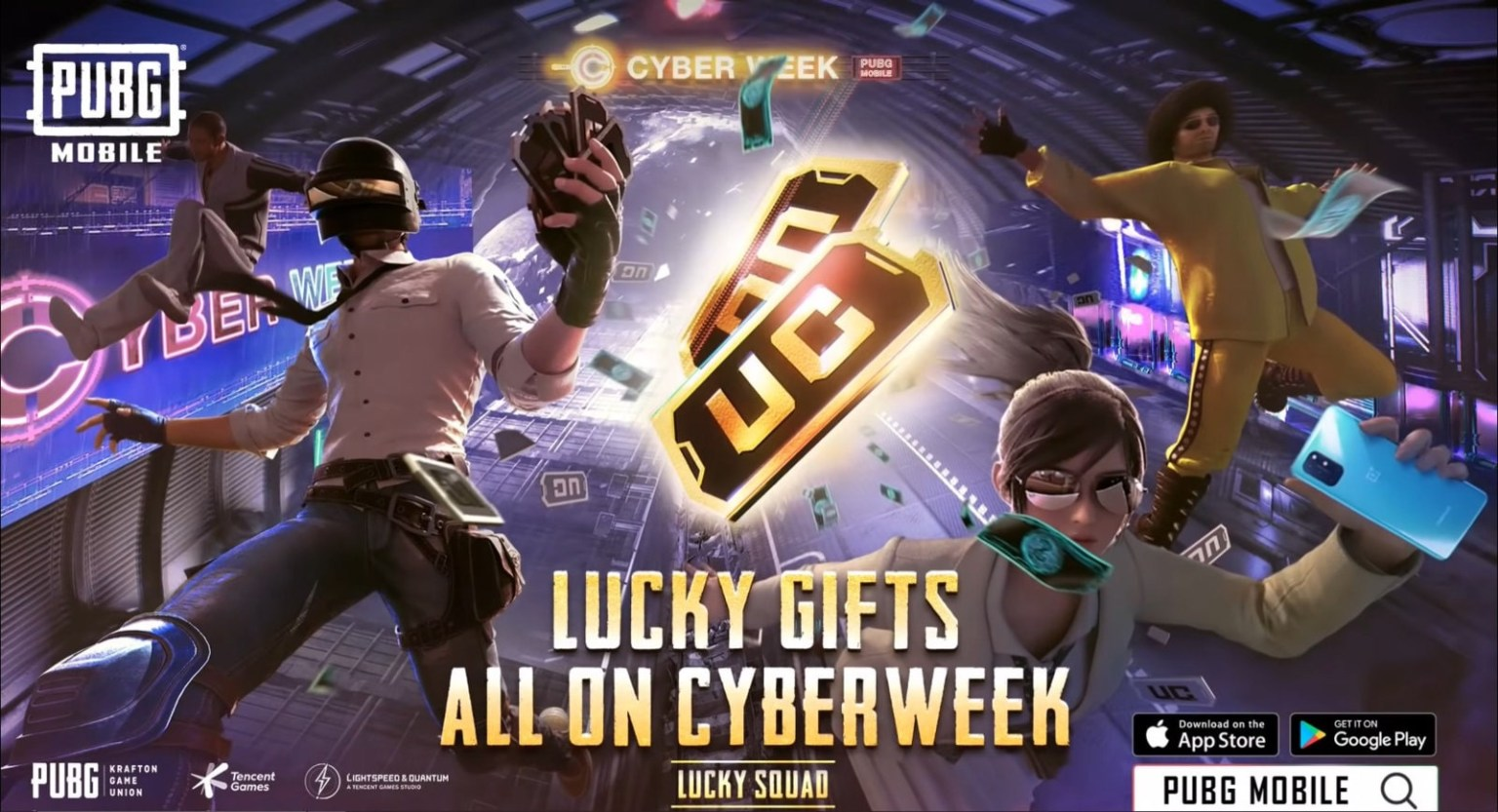 Download PUBG MOBILE – Cyber Week v1.1 APK and OBB File