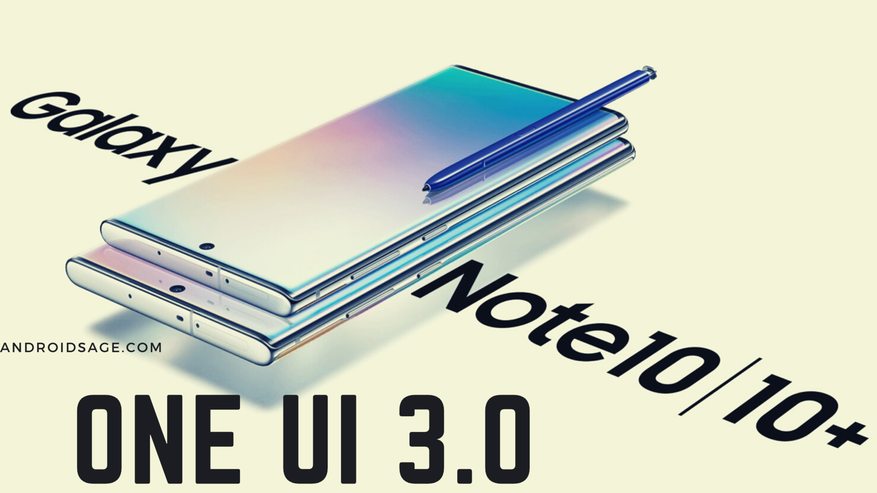 One UI 3.0 for Galaxy Note 10 plus