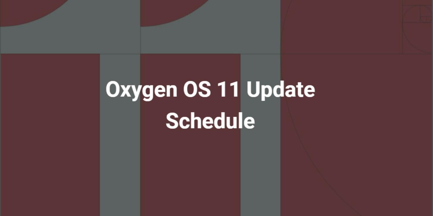 OnePlus' oxygen os 11 update schedule