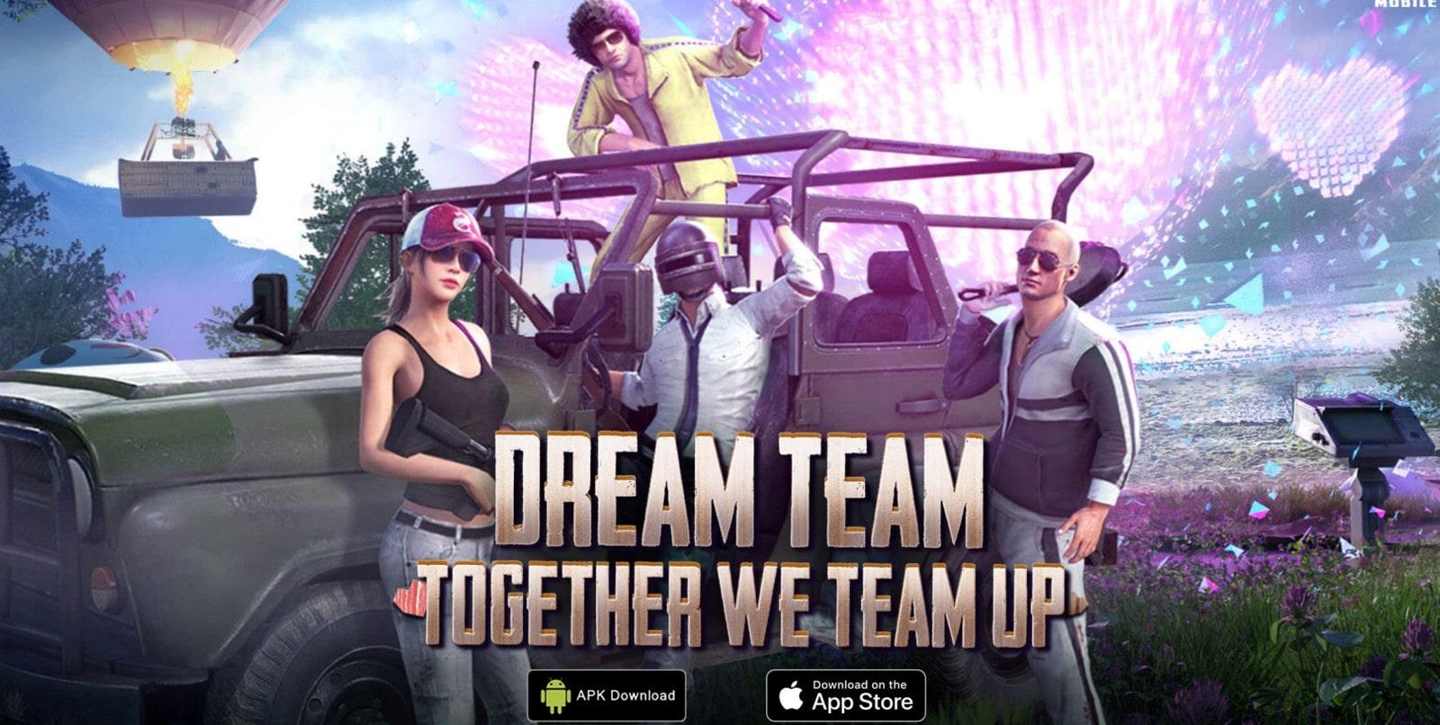 PUBG Mobile Dream Team APK download