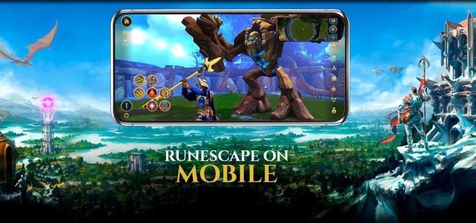 RuneScape Mobile - Cross-platform MMORPG