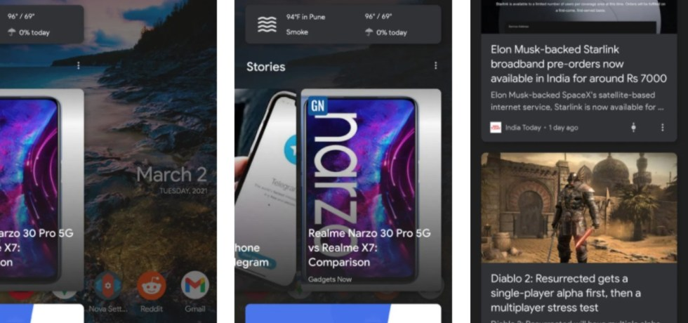 Enable Google Discover Feed on home screen