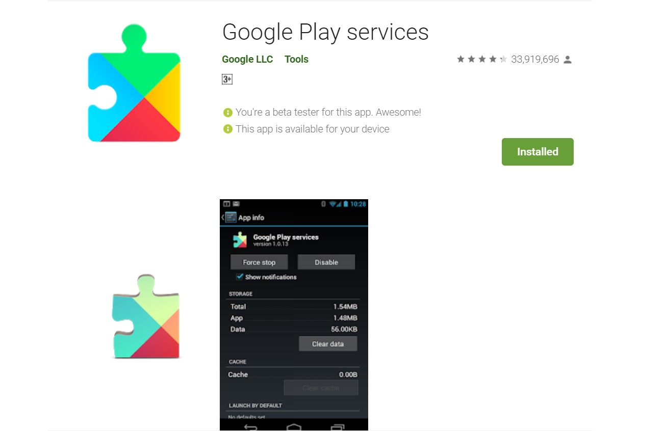 Download Latest Google Play Services APK