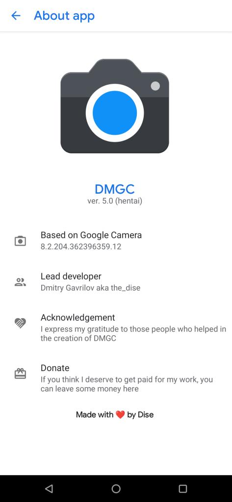 Gcam 8.2 APK DMGC-8.2.204