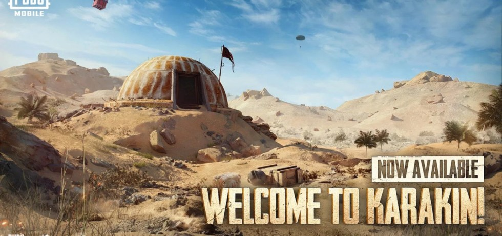 PUBG MOBILE 1.3.1 APK Download KARAKIN MAP