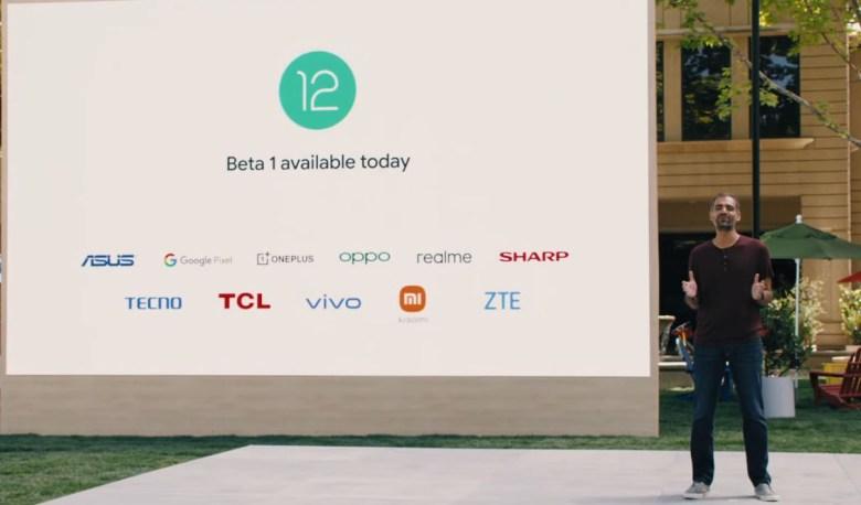 Android 12 Beta 1 list of smartphones