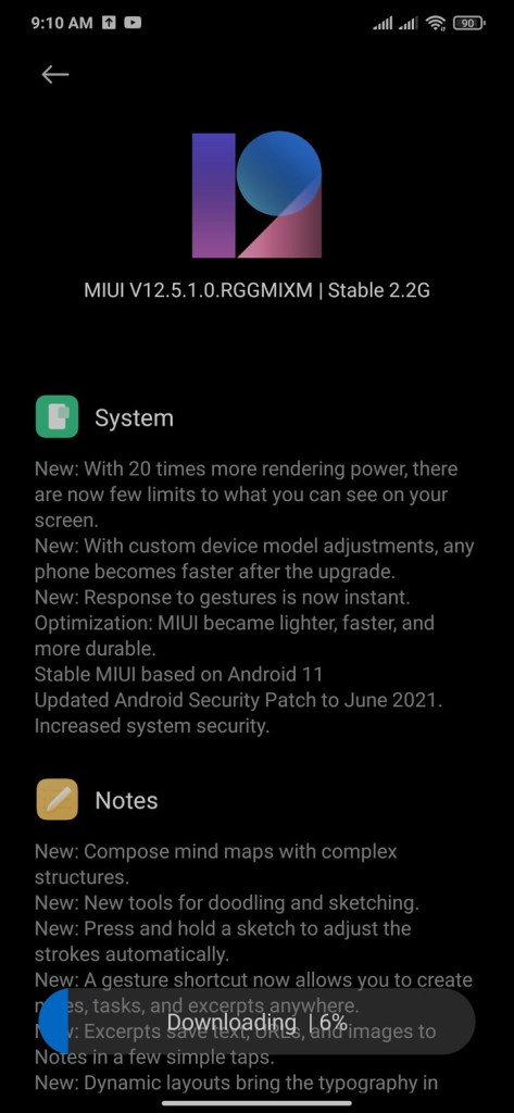 Android 11 for Xiaomi Redmi Note 8 Pro with MIUI 12.5