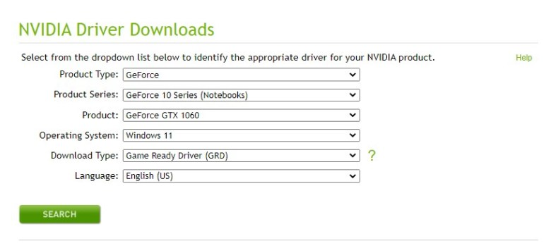 Download Drivers NVIDIA