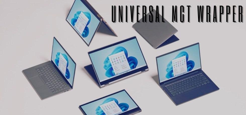 Download Universal Media Creation Tool Wrapper Script