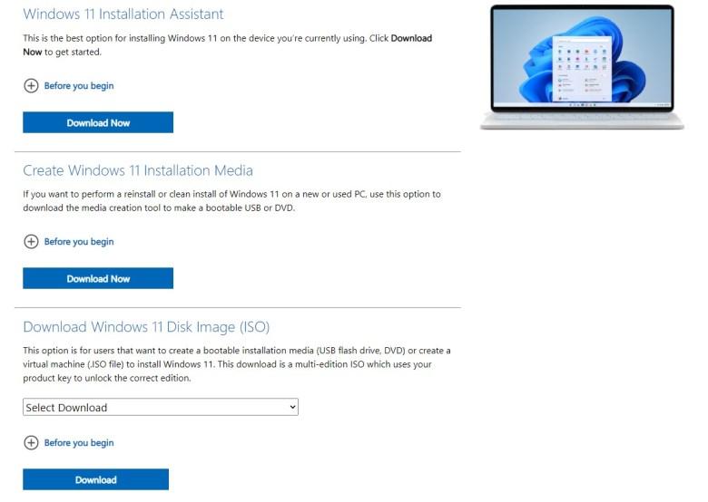 Download Windows 11 -Microsoft