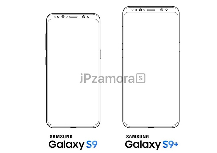 Samsung Galaxy S9 and Galaxy S9+ specs and renders leaked